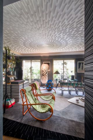 2019现代110平米装修设计 2019现代庭院装修效果图大全