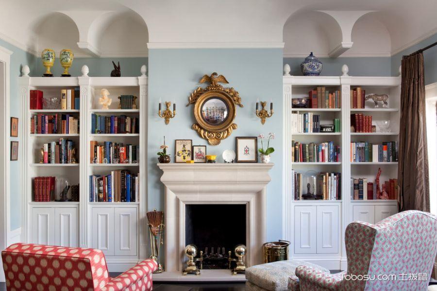 客厅黄色灯具混搭风格装修图片