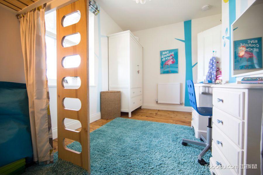 卧室白色衣柜现代风格装修效果图