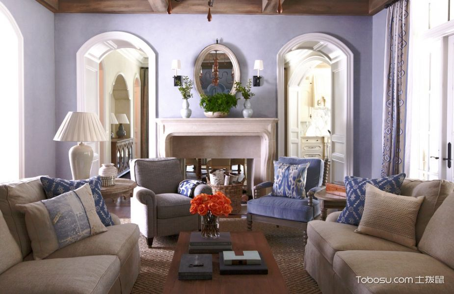 2021美式240平米装修图片 2021美式二居室装修设计