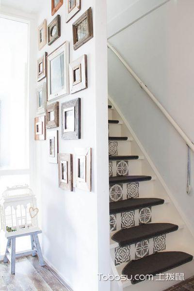 楼梯混搭风格效果图大全2017图片
