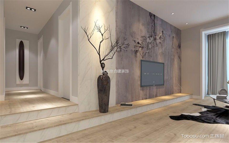 奥林匹克花园110平三居室现代简约风格装修效果图