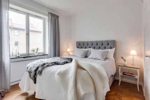 卧室北欧风格效果图大全2017图片_土拨鼠清爽摩登客厅北欧风格装修设计效果图欣赏