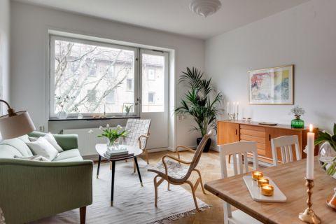 2018北欧60平米以下装修效果图大全 2018北欧套房设计图片