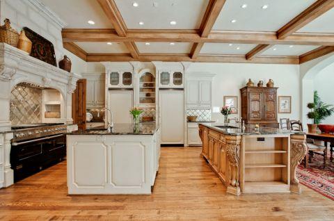 厨房吊顶地中海风格装潢效果图