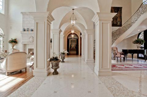 玄关走廊地中海风格装修图片