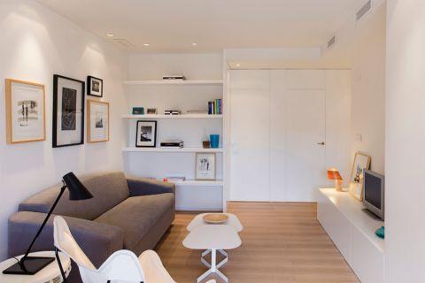 客厅茶几北欧风格装饰设计图片