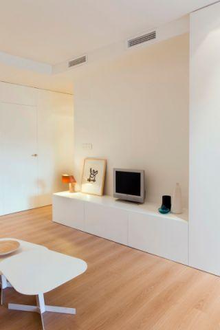 客厅电视柜北欧风格装潢设计图片