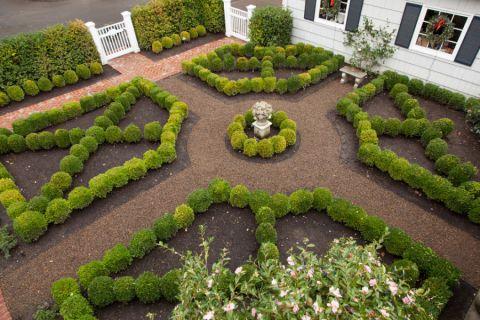 花园地砖美式风格装饰效果图