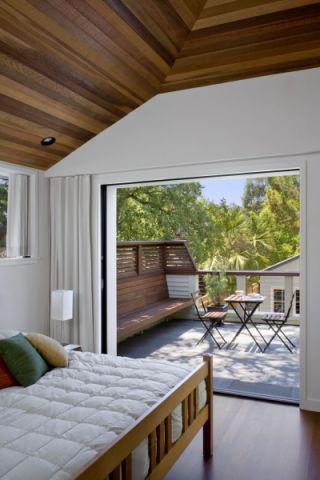 卧室地板砖现代风格效果图