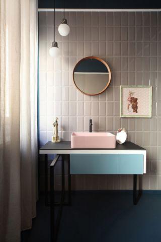 浴室浴缸混搭风格装修图片