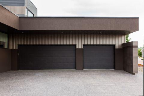 车库地砖现代风格装潢效果图