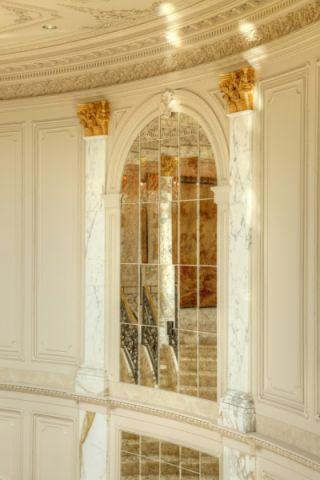 玄关背景墙美式风格效果图