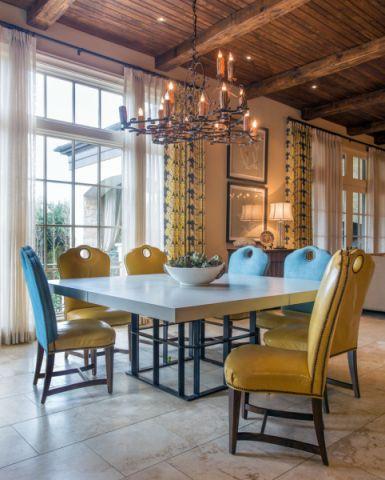 餐厅餐桌地中海风格装修效果图
