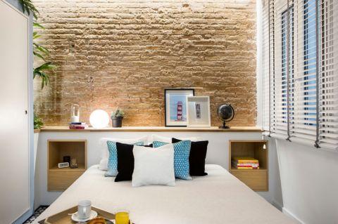 卧室背景墙地中海风格装潢效果图