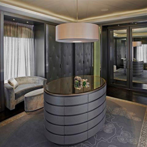 起居室吊顶现代风格装潢设计图片