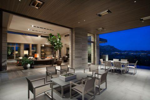 阳台吊顶现代风格装修效果图