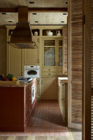 厨房橱柜混搭风格装潢图片