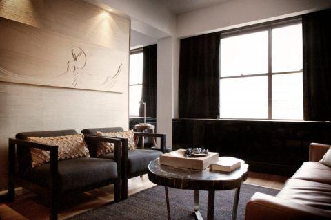 客厅现代风格效果图大全2017图片_土拨鼠精致唯美客厅现代风格装修设计效果图欣赏