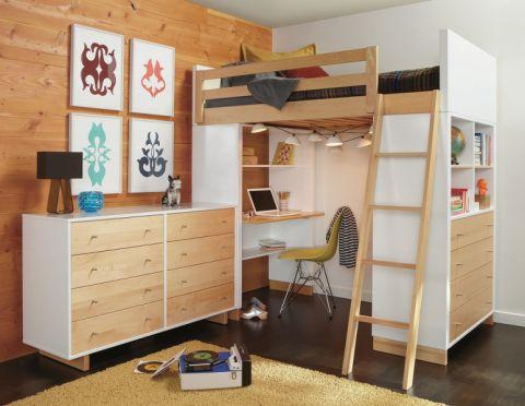 儿童房现代风格装潢图片