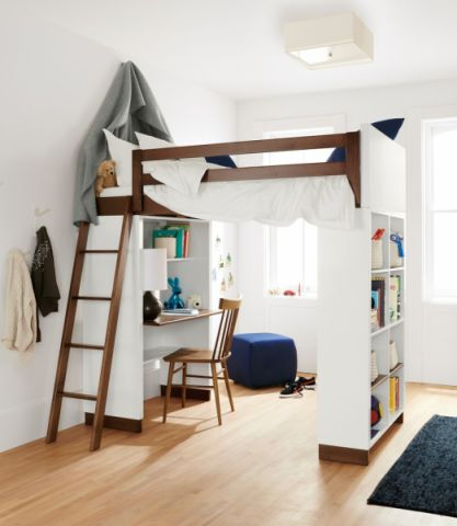 儿童房现代风格装修设计图片