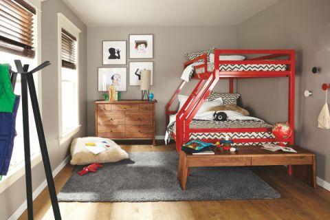 儿童房现代风格效果图