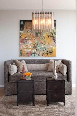 客厅沙发现代风格效果图