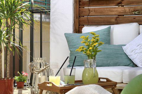 阳台细节地中海风格装潢图片
