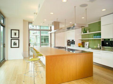 厨房现代风格效果图大全2017图片_土拨鼠温馨质感厨房现代风格装修设计效果图欣赏