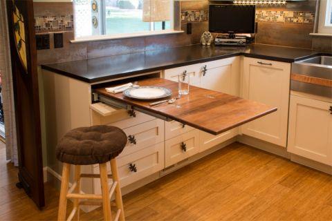 厨房橱柜混搭风格装修效果图