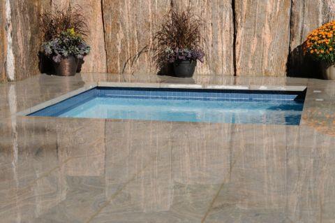 花园泳池现代风格装修图片