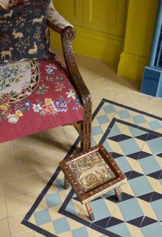客厅地砖混搭风格装饰效果图