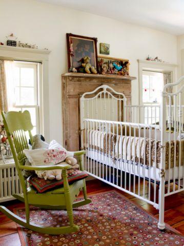 儿童房床混搭风格装潢图片