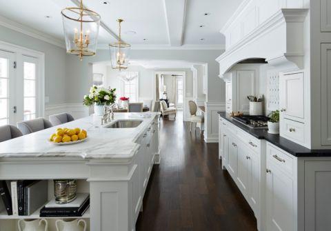 厨房美式风格效果图大全2017图片_土拨鼠极致风雅玄关美式风格装修设计效果图欣赏