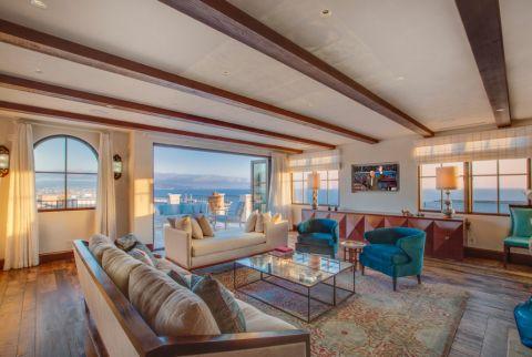 66平米一居室地中海风格装修图片