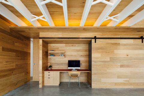 三居室126平米现代风格装修图片