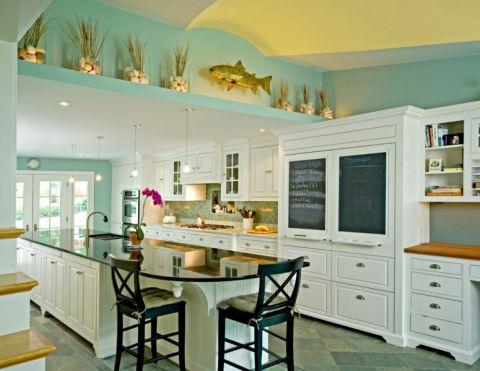 84平米三居室美式风格装修图片