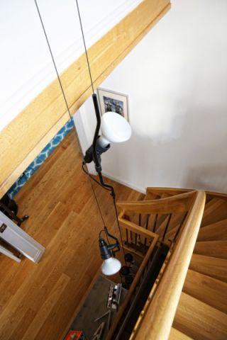 客厅楼梯混搭风格装修设计图片