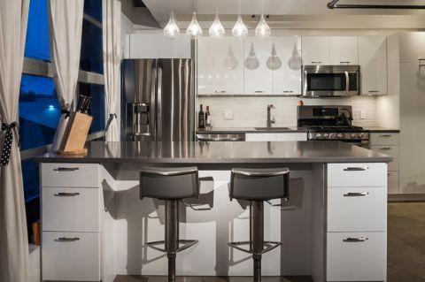 厨房吧台现代风格装修图片