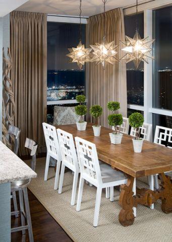 餐厅混搭风格装修设计图片