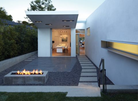 花园地板砖现代风格装潢图片