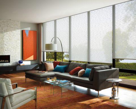 210平米套房现代风格设计图欣赏