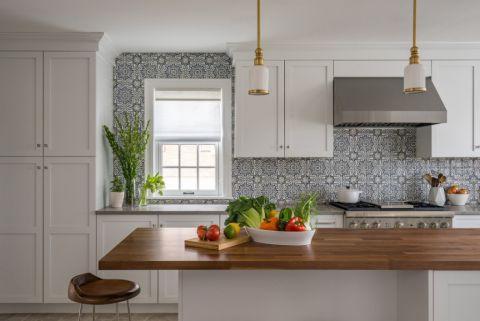 厨房窗帘现代风格装潢设计图片