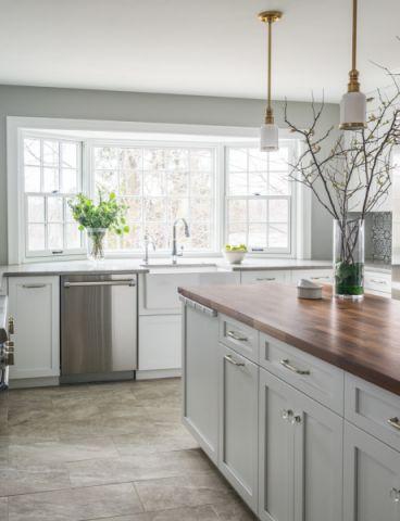 厨房窗台现代风格装潢图片