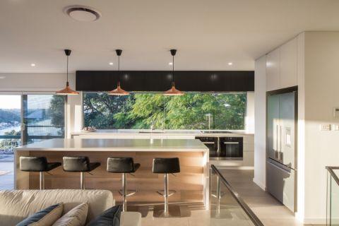 厨房走廊现代风格装潢图片
