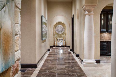 卧室走廊地中海风格装饰效果图
