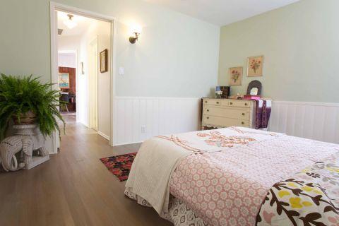 卧室地板砖地中海风格效果图