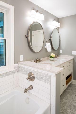浴室美式风格装修设计图片