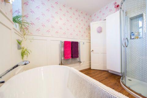 浴室地砖现代风格装潢效果图
