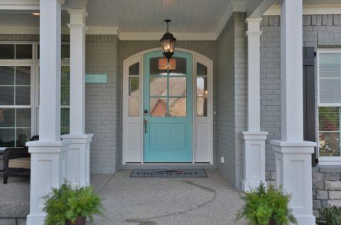 外景外墙美式风格装潢设计图片